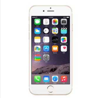 (金色) 苹果(Apple)iPhone 6  Plus (A1524) 64GB 5.5寸 移动联通电信4G手机